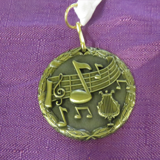 Front View Of Medal