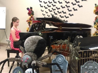 Halloween music recital